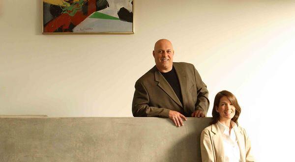 Angela Brooks and Lawrence Scarpa.