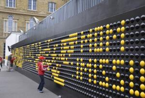 Songboard by Central St Martins art school is a popular interactive wall installation.