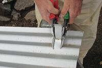 Cutting Metal Roofing