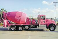 Concrete Industry holds a Pink Ribbon Challenge to Show Support for Breast Cancer Awareness