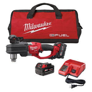 The kit version (2707-22) includes a tool, two 4.0 Ah XC batteries, an M18/M12 Multi-voltage charger, and a contractor bag. It is also available for the QUIK LOK version of the tool (2708-22). Either tool can be purchased bare.