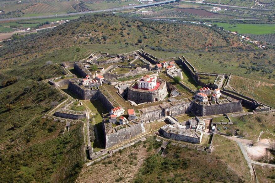 Forte de Nossa Senhora da Graça near the town of Elvas inPortugal. (2010)