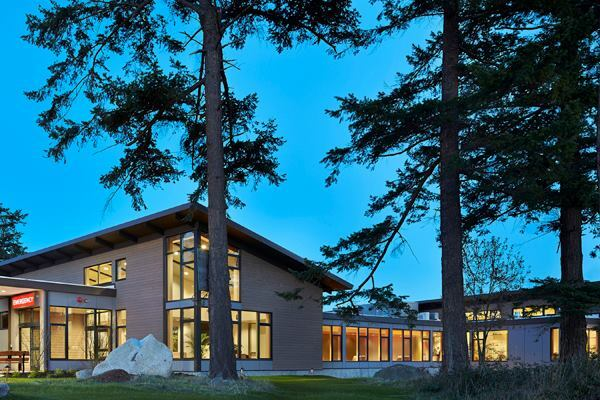 Peace Island Medical Center, San Juan Island, Wash., by Mahlum Architects