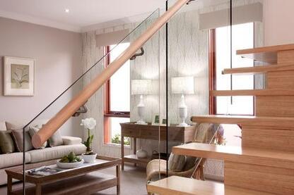 Timber & Glass Balustrades | Architect
