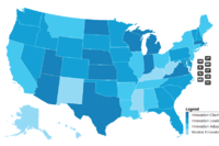 Top States for Innovation-Friendly Policies
