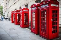 London's Iconic Red Phone Box Goes Green