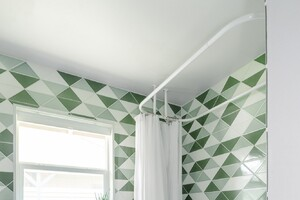 Fireclay Tile Goes Graphic with Triangle Collection