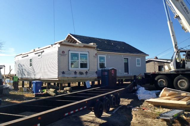 Modular Building Goes Mainstream in Storm-Ravaged Areas