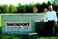 Ed Davenport: Masonry Construction's Industry Leader of the Year