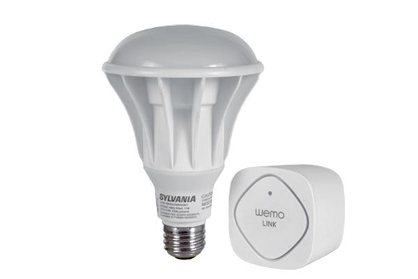 Lighting manufacturer Osram Sylvania will work with Belkin to add the Web-enabled devices maker's Internet-connected functionality to a selection of lighting products