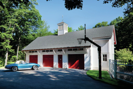 Garage Makeover Adds Space and Addresses Water-Management Issues