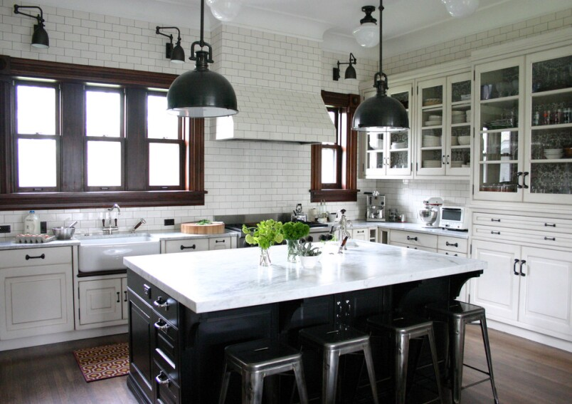 How to Lose Upper Kitchen Cabinets