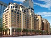 HIGH LIFE: The Mandarin Oriental Boston will be a mixed-use development with a luxury hotel, apartments, and condos, in addition to high-end retail. Slated to open in 2007, the project is expected to revitalize Boston's upper Boylston St. neighborhood.