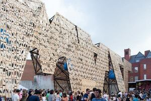 Coda Party Wall at MoMA PS1