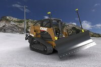 CASE Introduces the DL450 the First-Ever Fully Integrated Compact Dozer Loader