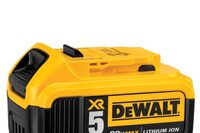 DeWalt Announces 5.0 Ah Battery