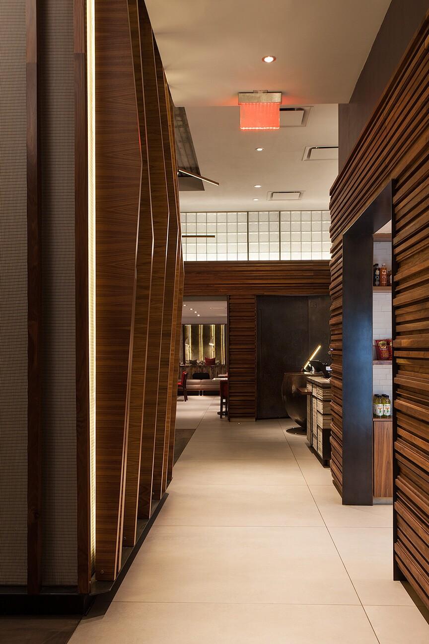 Back hall corridor