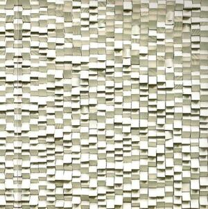 Wood screen designed by Heloisa Crocco, a speaker at Green Nation Fest