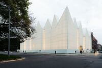 """Exhibition: """"Shaping European Cities"""" by the European Commission and the Fundació Mies van der Rohe"""
