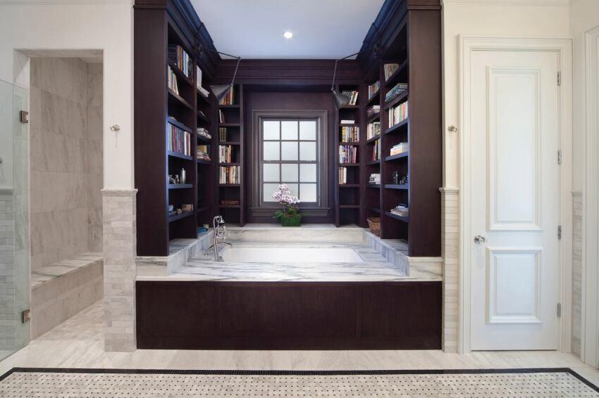 Adams Hall Custom Bath