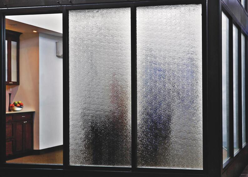 Bendheim EcoGlass Textured Architectural Glass