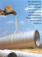 Making corrugated steel pipe culverts last
