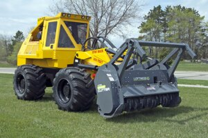Geo-Boy Brush Cutter Tractor from Jarraff Industries