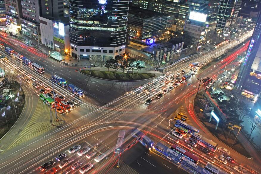 Gangnam, South Korea.
