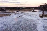 Super Bowl Storm Floods Cape Hatteras