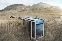 Conceptual Cliff-Side Residence Puts Owners on the Edge