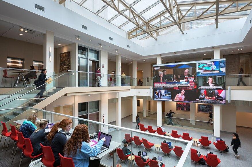 Franklin Hall Media School Indiana University