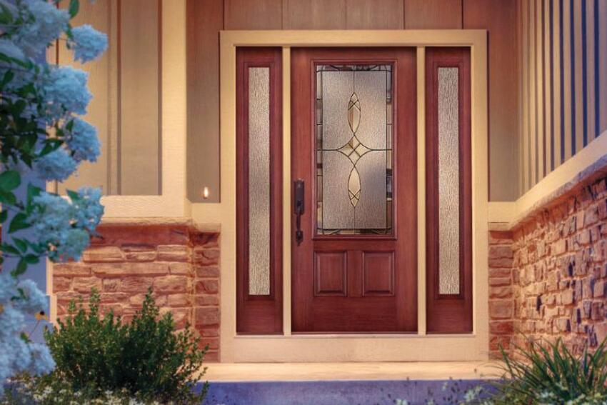 ThermaTru 3-Panel Door
