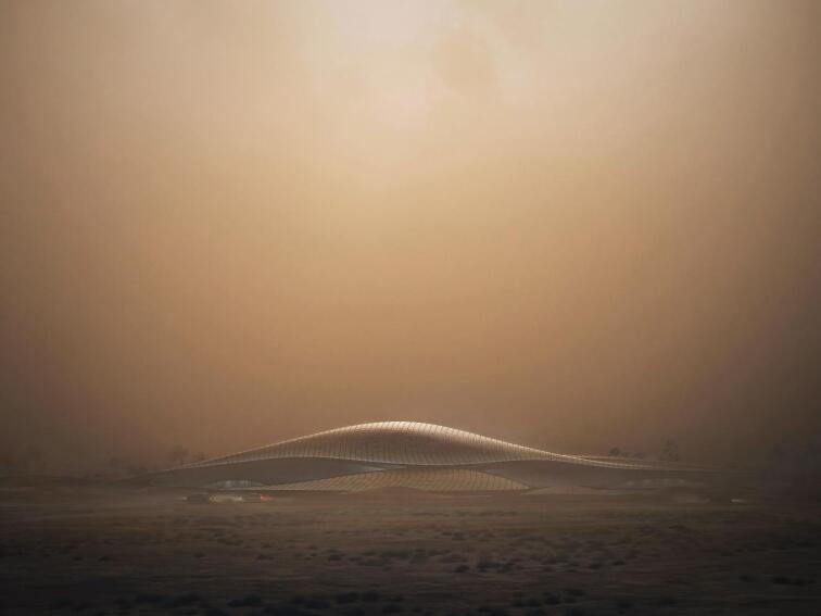 Zaha Hadid Architects to Build Sustainable Bee'ah Headquarters
