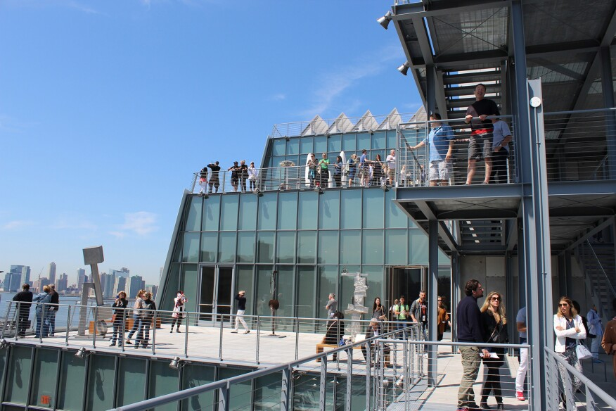 New Whitney Museum, New York, by Renzo Piano Building Workshop.