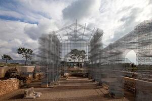 Edoardo Tresoldi's Ghost Cathedral for Siponto