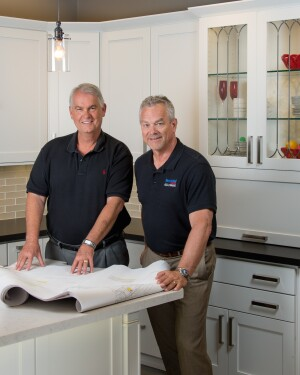 Joe Christianson and Dave Shultz of Remodel Works Kitchen and Bath, Poway, Calif.