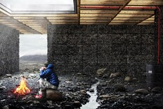 This Bare-Bones Cabin Could Shelter Weary Hikers in the Icelandic Wilderness Sometime Next Year
