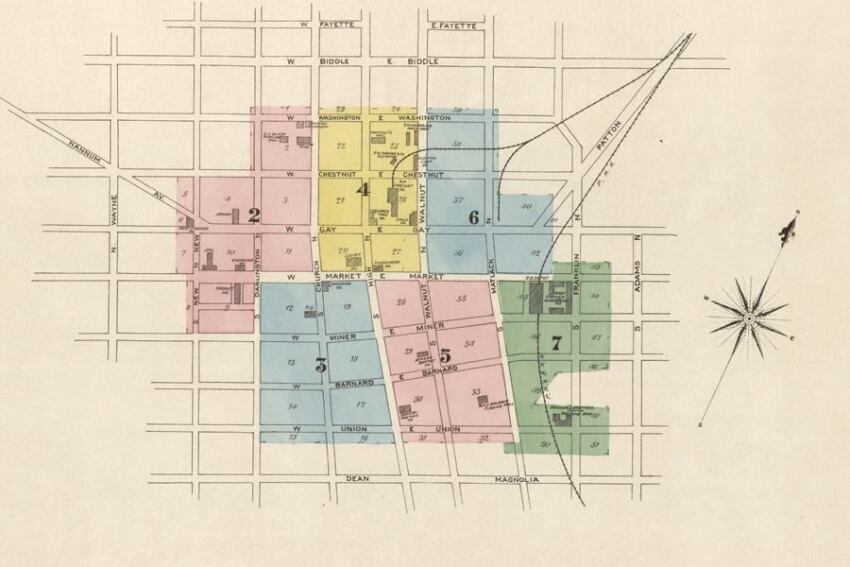 Sanborn Fire Insurance Maps, Library of Congress