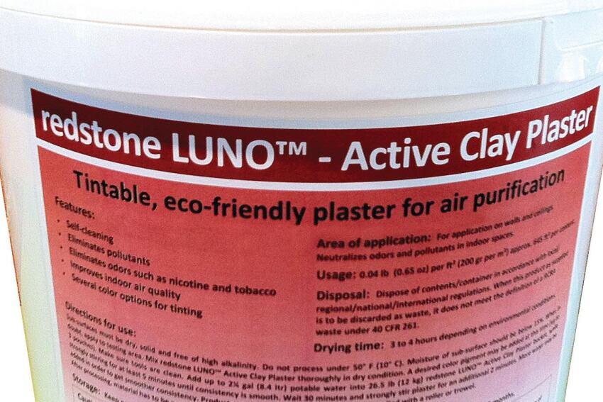 Redstone USA's LUNO Active Plaster