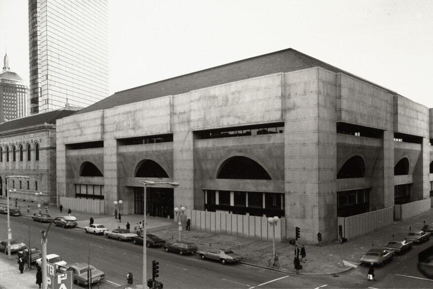 Architecture Buildings In Boston the tale of two modernist libraries | architect magazine