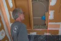 Installing a Recessed Shelf for a Tile Shower