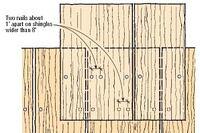 Q&A: Nailing Cedar Shingles