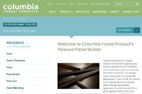Columbia Forest Products Online Plywood Panel Builder
