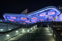 AmericanAirlines Arena NRG Solar Canopy