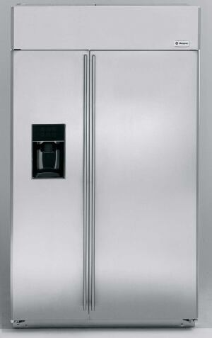 The GE Monogram Refrigerator could be using a more environmentally friendly refrigerant by 2010.
