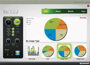 Crestron Electronics Viridian software helps corporations, schools, and builders reduce energy consumption and meet global carbon reduction targets. It enables control, management, and monitoring of an organizations environmental systems in every room of each building through one interface. Viridian allows facility managers to adjust, activate, or create everyday system scheduling tasks for lighting scenes, thermostats, shades, and A/V equipment in boardrooms, as well as monitor utility meters, occupancy status, CO2 levels, appliances and devices via a touchpanel or Web browser. crestron.com