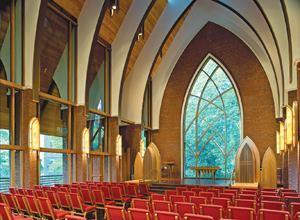 Julia Thompson Smith Chapel at Agnes Scott College, Decatur, Ga.