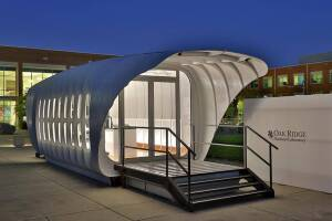 A 3-D printed home from Oak Ridge.