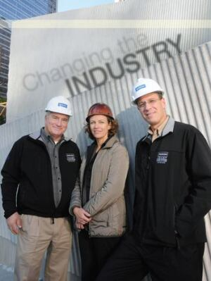 Dale Hendrix, Jeanne Gang, and David Alexander bring the concrete industry to a higher level.