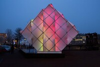 UNStudio and MDT-tex Design a Hub of Light for Amsterdam Light Festival